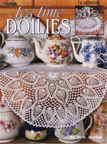 Tea Time Doilies - Crochet-Tea Time Doilies - Crochet