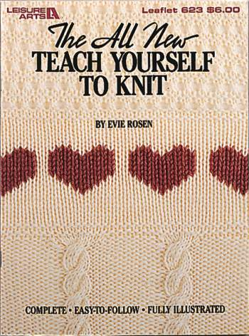 The all-new Teach Yourself to Knit Book