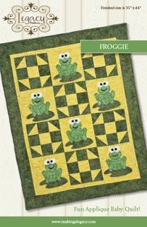 Froggie Quilt Pattern