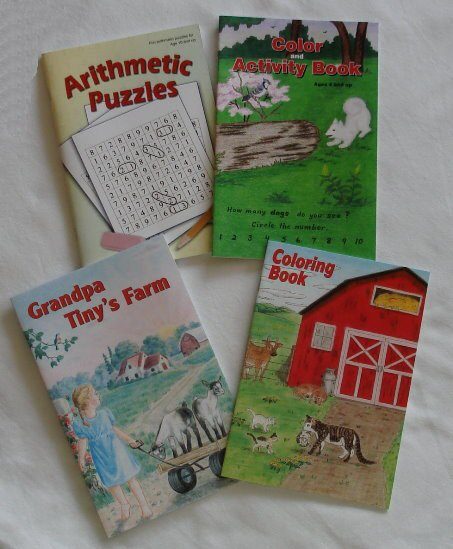 Small Coloring Books