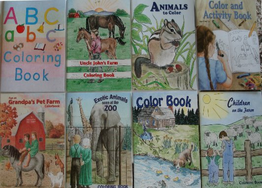 Coloring Books-Coloring Books
