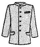 Mens Plain Suit Coat Pattern