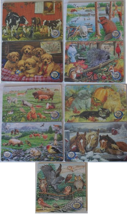 Children's Tray Puzzles-Children's Tray Puzzles