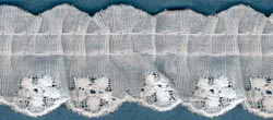 7/8&quot; Ruffled Eyelet Lace-7/8