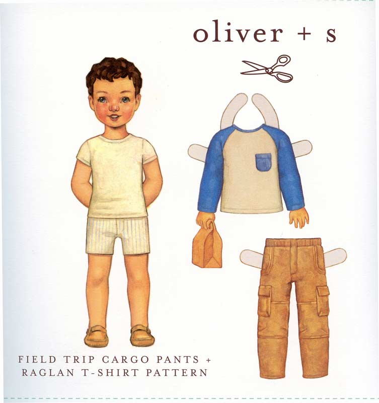 Boys Oliver + s Field Trip Cargo Pants & Shirt-Boys Oliver + s Field Trip Cargo Pants & Shirt