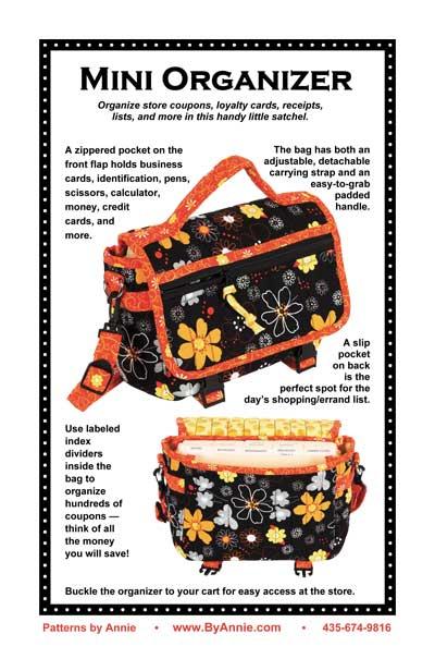 Caddy Organizer Bag Organizer Tote Bag Pattern