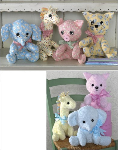 Stuffed Animals Pattern II