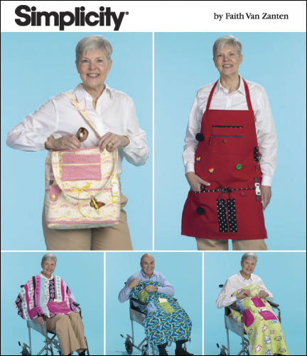 Wheelchair Accessories, cape & apron in one size