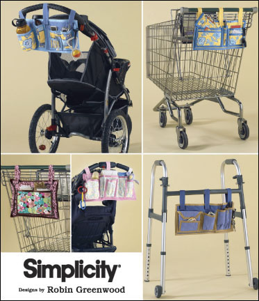Organizers for Shopping Carts, Walkers, or Strollers