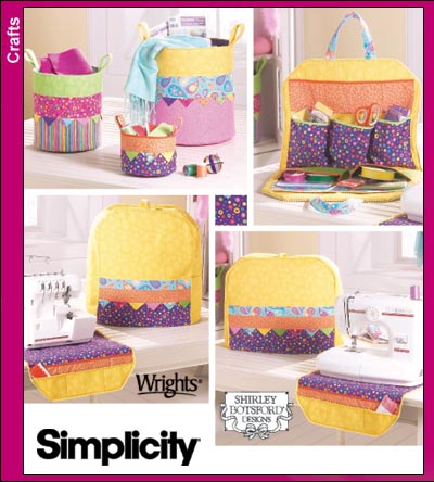 Sewing Accessories - machine covers, organizers & containers