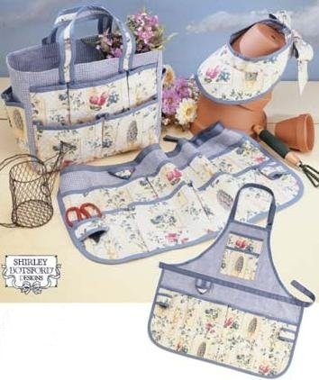 Garden Accessories - Tote, Apron & more!-Garden Accessories - Tote, Apron & more!