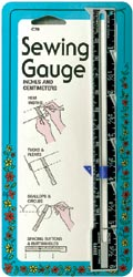 Sewing / Knitting Gauge