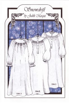 Ladies Snowdrift Nightgown
