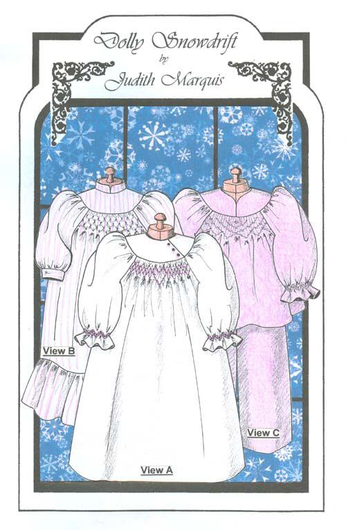 Doll Snowdrift Nightgown
