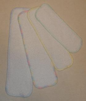 SS Hemp/Organic Cotton Diaper Liners / Doublers