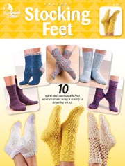 Stocking Feet - Crochet