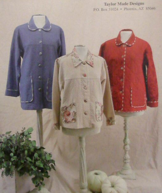 Everyday Jackets...Again!  Pattern-cindy oates taylor, taylor made, taylor made designs, everyday jackets, everyday jackets...again, pa