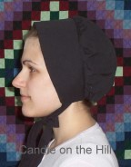 Winter Bonnet Pattern-winter bonnet, bonnet pattern, costume, bonnets, pioneer bonnet, amish bonnet, mennonite bonnet,